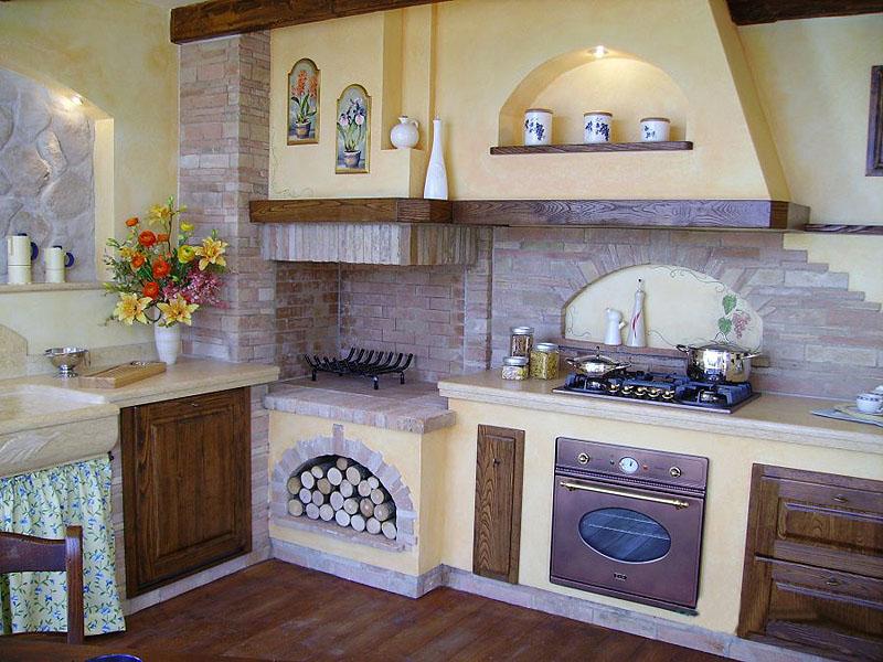 Casa moderna roma italy piani di lavoro per cucine - Piano cucina in muratura ...