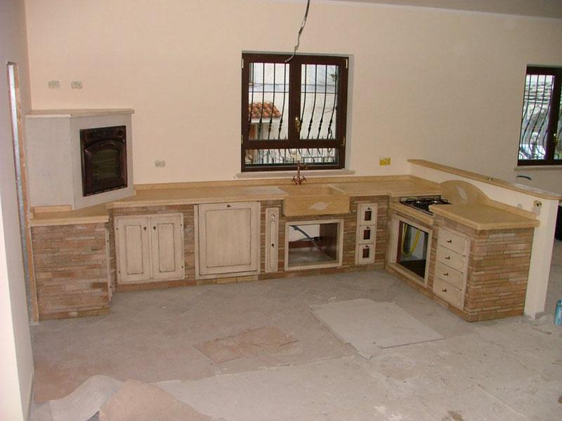 Documento senza titolo - Piano cucina in muratura ...